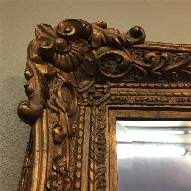 Carved Gilt Wall Mirror - Image 2 of 10