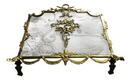 Image of Brass Fireplace Screens and Fenders