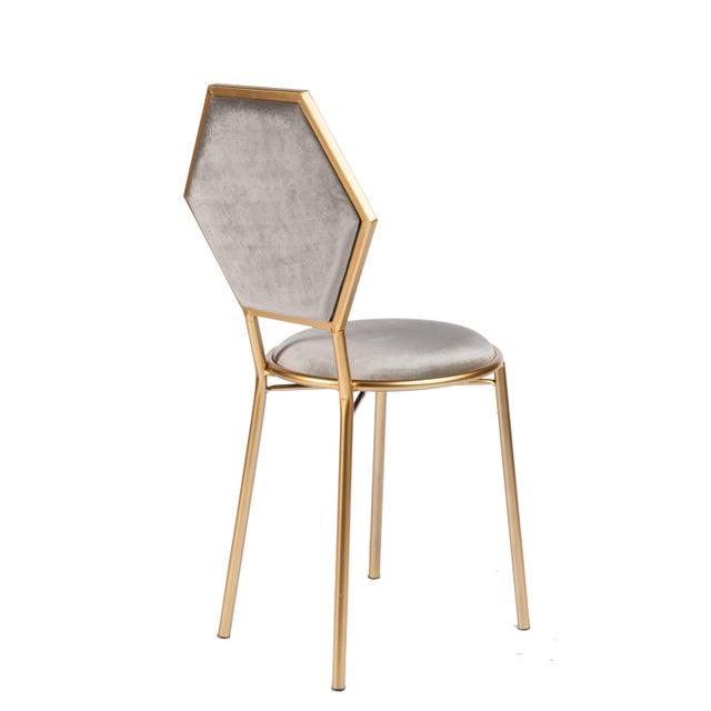 Perfect little chair to be used as a side chair, vanity chair or a small dining chair . Multiples available. Materials:...