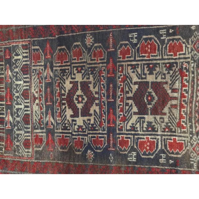 "Vintage Persian Baluchi Rug - 2'6""x3'5"" - Image 3 of 11"