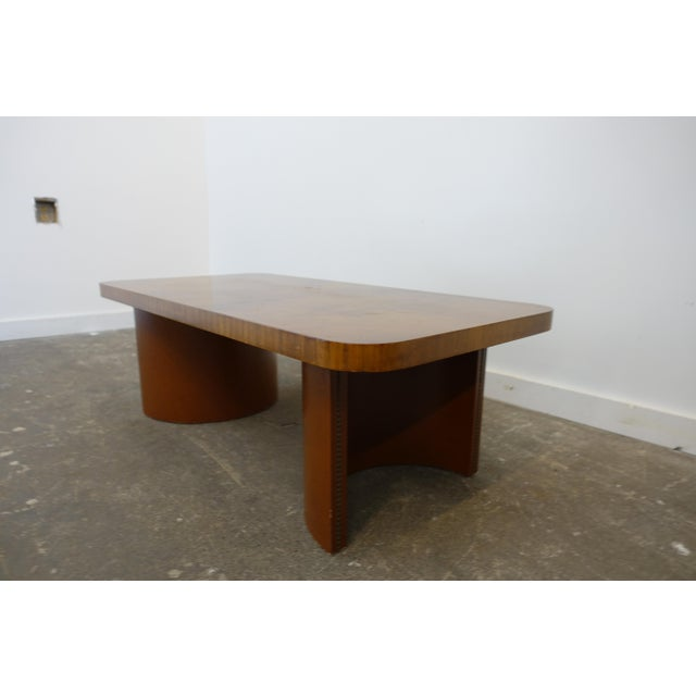 Mid-Century Modern 1950s Mid-Century Modern Gilbert Rohde Coffee Table For Sale - Image 3 of 9