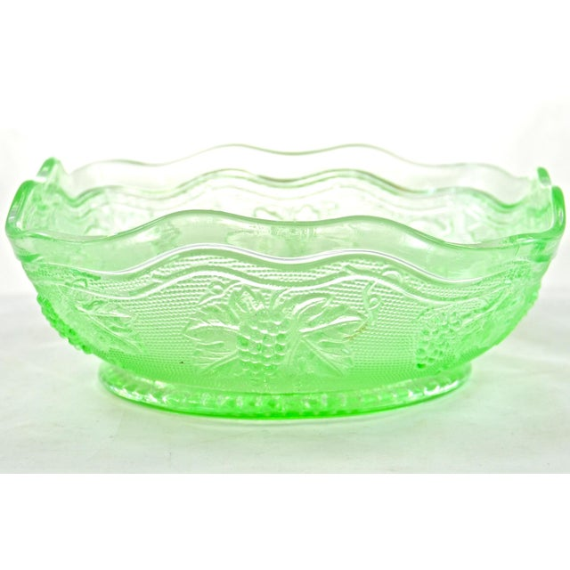 Green Grape Embossed Bowl - Image 3 of 4
