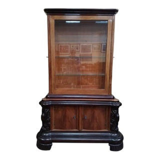 Late C19th Belgian Display Cabinet