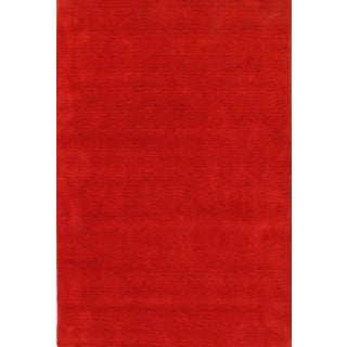 Pasargad Ny Indo Modern Allover Hand-Knotted Rug - 6′ × 9′ For Sale