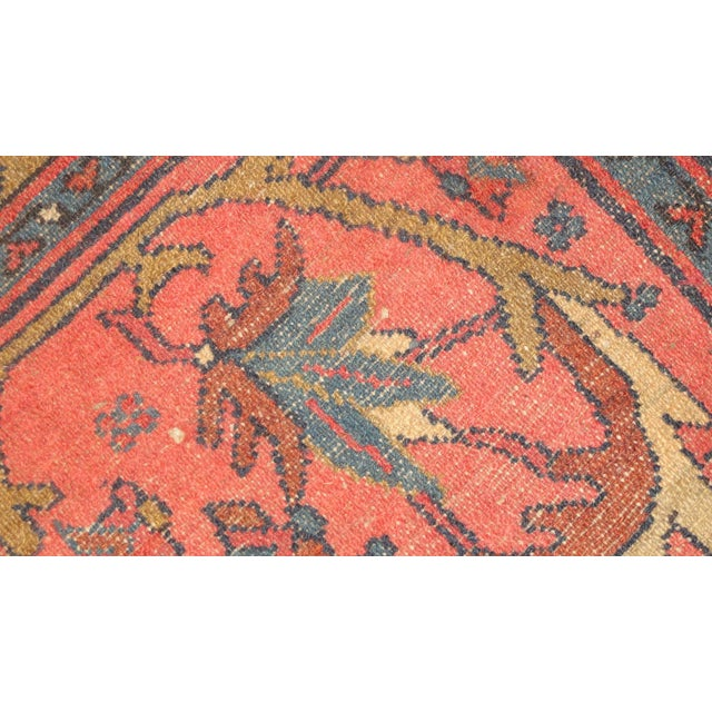 """Traditional Antique Persian Lillihan Rug - 5' x 2'9"""" For Sale - Image 3 of 4"""