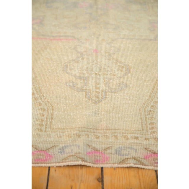 Vintage Distressed Oushak Rug - 4' x 7' - Image 9 of 11
