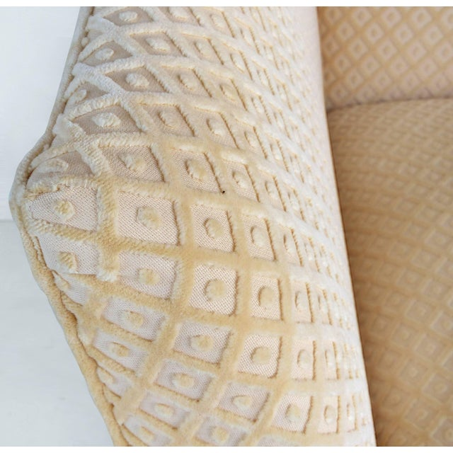 Sculptural Upholstered Club Chairs Attributed to Donghia - a Pair For Sale - Image 10 of 11