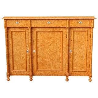 1880 Swedish Sideboard or Storage Cabinet For Sale