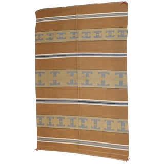 Navajo Indian Weaving Chinle Rug - 3′6″ × 6′2″ For Sale