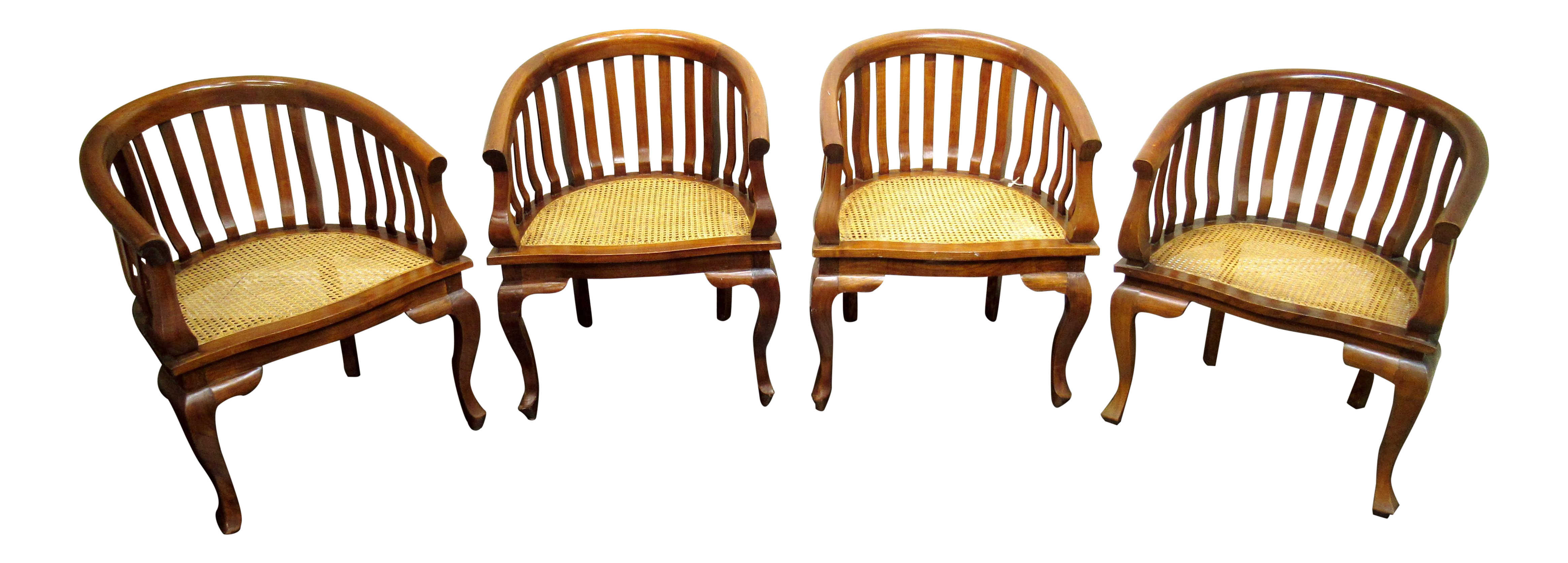 Bauer Barrel Chairs   Set Of 4