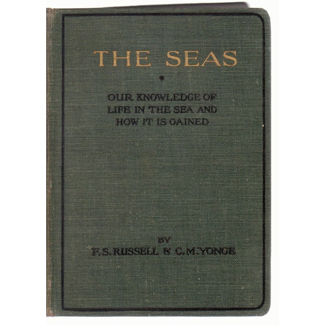 1928 The Seas Hardcover Book with Illustrations For Sale In Atlanta - Image 6 of 6
