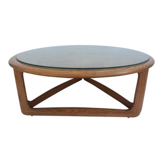 Lane Perception Round Coffee Table.