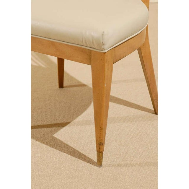 Set of Four (4) Chairs in the Style of Michael Taylor For Sale - Image 10 of 11