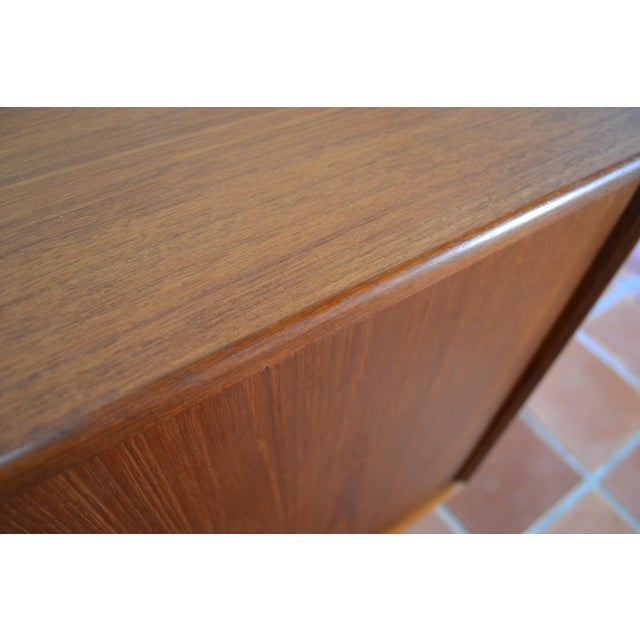 Brown Gunni Omann Mid-Century Danish Teak Credenza For Sale - Image 8 of 10