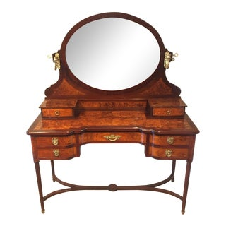 Antique French Dressing Vanity Table For Sale