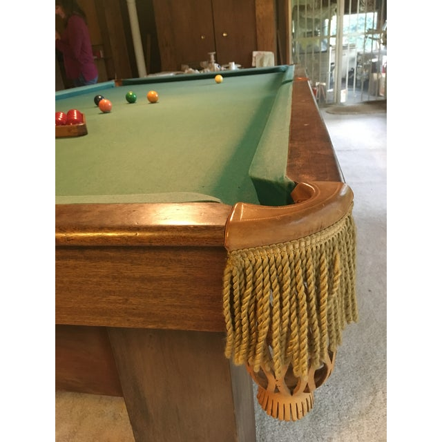 19th Century Slate Top Snooker Table For Sale - Image 12 of 13