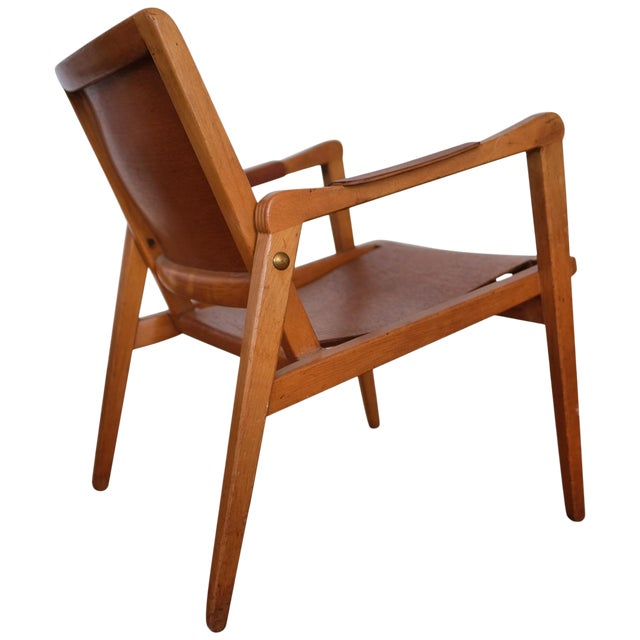 Axel Larsson Lounge Chair, Sweden, 1948 For Sale