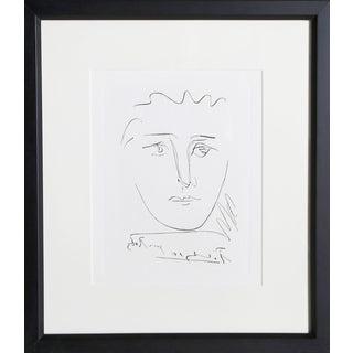"""Pablo Picasso """"L'Age De Soleil (Pour Roby)"""" Etching For Sale"""