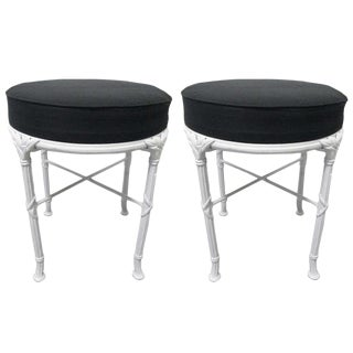 Hollywood Regency Stools For Sale