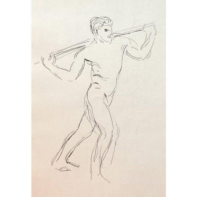 Male Nude by Hayward Cirker - 1970s For Sale