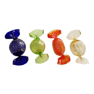 Vintage Italian Murano Glass Candies - Set of 4 For Sale
