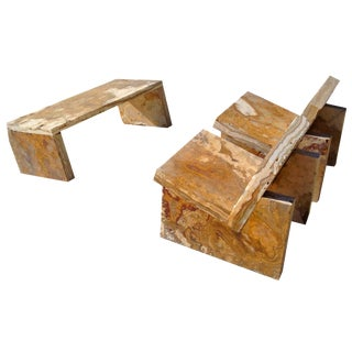 Customizable Onyx Seating - 3 Pc. Set For Sale