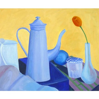 J. Dupuis, Still Life - Study in Blues For Sale