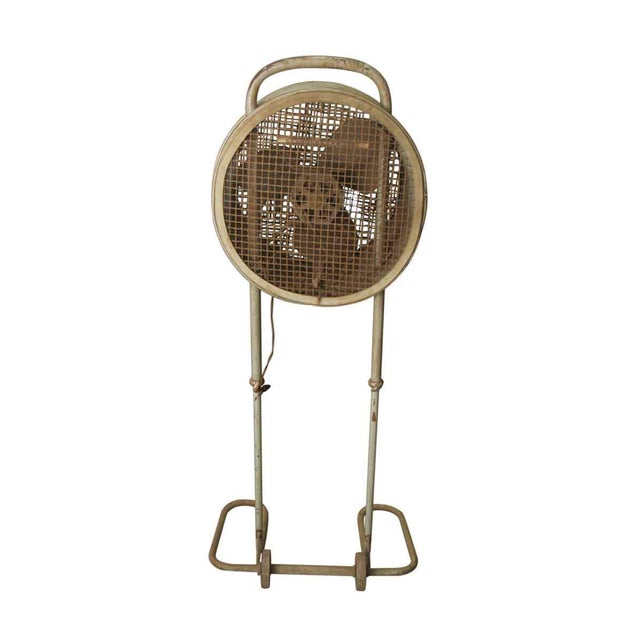 Metal Vintage Westing House Industrial Fan For Sale - Image 7 of 8
