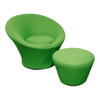 Mushroom Chair + Ottoman by Pierre Paulin for Artifort For Sale