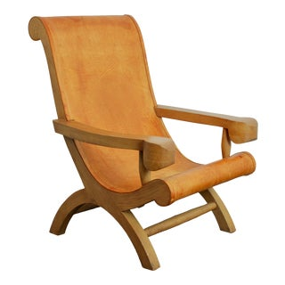 1940s Clara Porset Butaque Chair For Sale