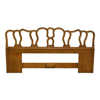 Late 20th Century Vintage Drexel Touraine Collection King Size Headboard For Sale