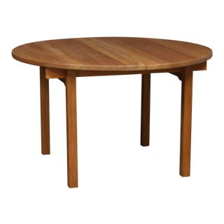 1960s Vintage Kurt Østervig for K.P. Møbler Oak Table For Sale