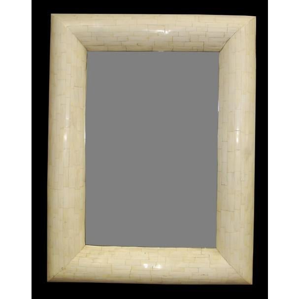 Asian Fat Bone Mirror For Sale - Image 3 of 3