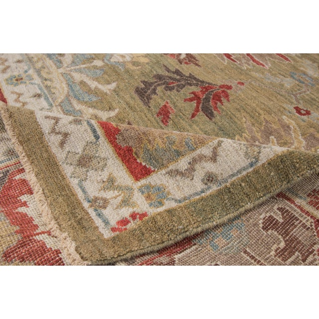 "Traditional Wool Sultanabad Rug - 8' x 10'3"" For Sale - Image 3 of 9"