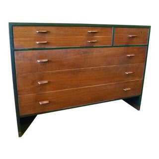 Hans Wegner Ebonized Oak Teak Dresser Ry Mobler - 1950s For Sale