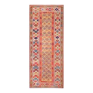"Antique Persian Kurdish Rug 4'0"" X 9'4"" For Sale"