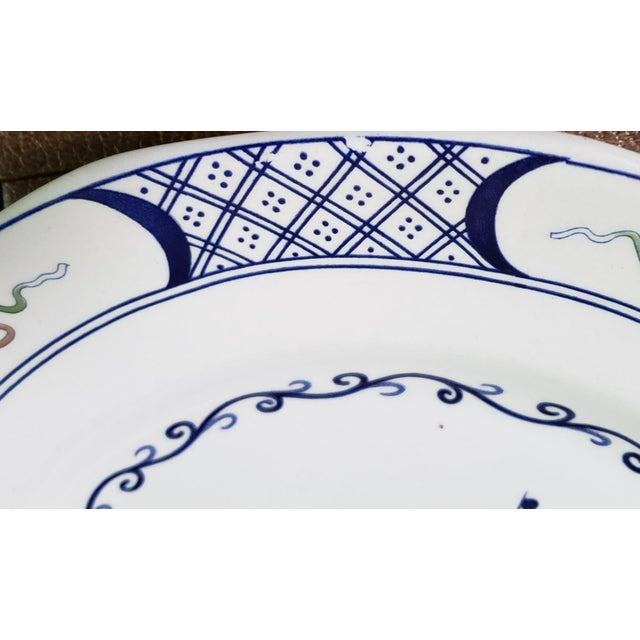 Wedgwood Volendam Pattern China Georgetown Collection Dinner Plates - Set of 6 For Sale In Seattle - Image 6 of 7