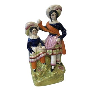 19th Century English Staffordshire Figure For Sale