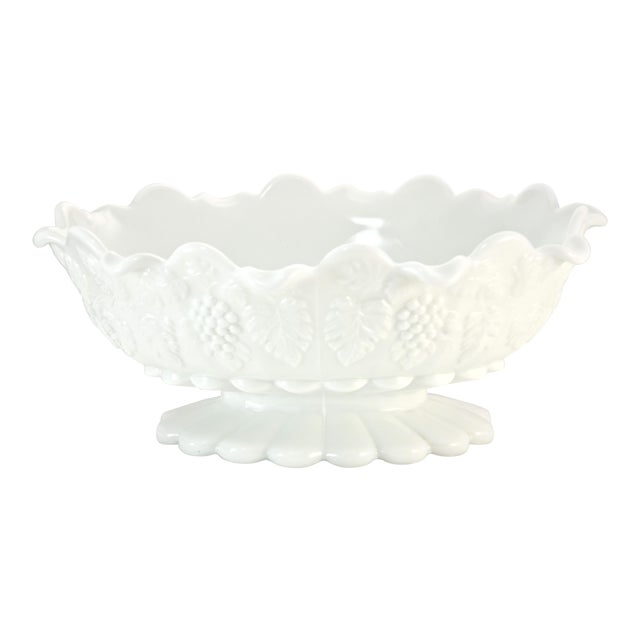 "Westmorland 11"" Oval Grape Centerpiece Bowl For Sale"
