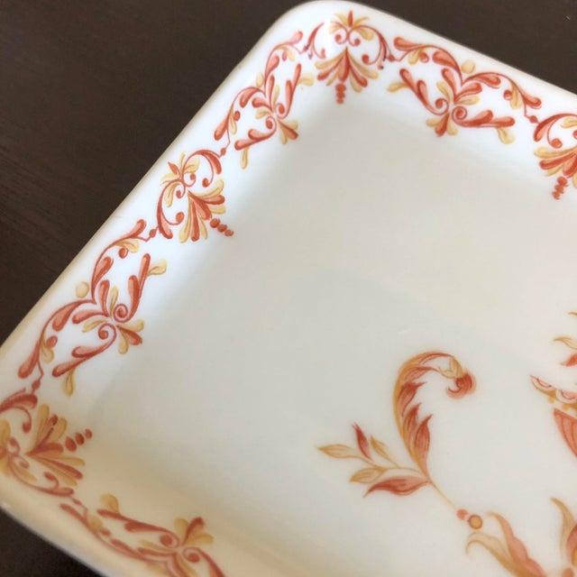 French Antique French Limoges Porcelain Trinket Dish For Sale - Image 3 of 5
