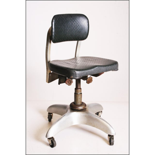 Vintage Industrial Swivel Office Chair by Goodform - Image 2 of 11