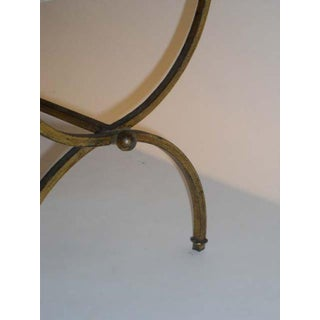 Small Gilt Iron Marble Top Coffee Table Preview