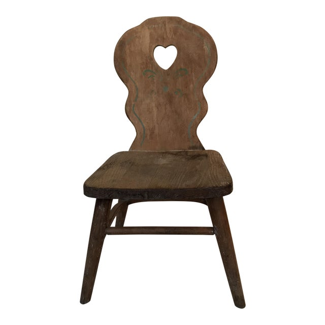 Antique Phoenix Chair Company Wooden Child's Chair - Antique Phoenix Chair Company Wooden Child's Chair Chairish