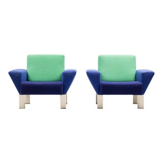 Pair of 'Westside' Armchairs by Ettore Sottsass for Knoll For Sale