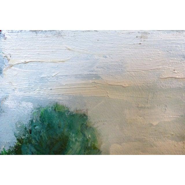 Robert Blanchard Mid-Century Cottage Oil Painting - Image 6 of 9
