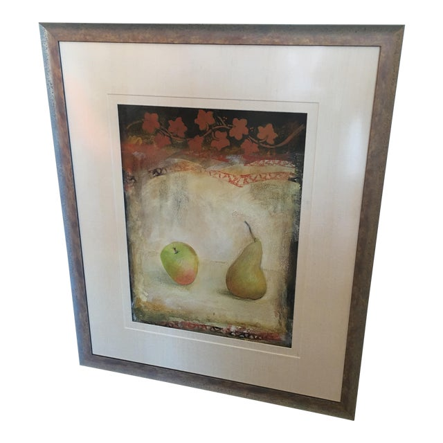 "Mei Yu Lo ""Pears"" Original Painting For Sale"