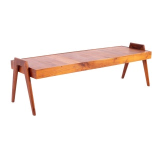 1960s Mid Century Danish Walnut Coffee Table For Sale
