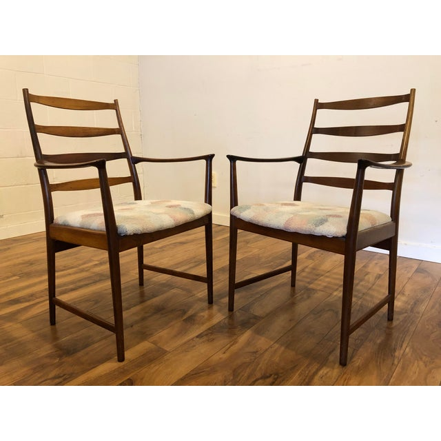 Mid-Century Modern Rosewood Mid Century Armchairs by Torbjorn Afdal for Vamo Sonderborg -A Pair For Sale - Image 3 of 13