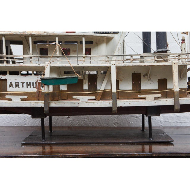 Folk Art Paddle Boat 'Arthur' of Paducah, Ky For Sale - Image 9 of 10