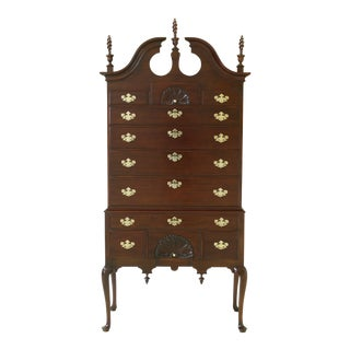 Statton Old Towne Cherry New England Style Highboy For Sale